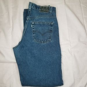 Vintage mens levis silvertab 31x34 made in usa